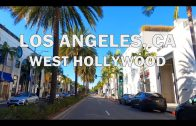 West hollywood, Los Angeles, CA – Driving 4K