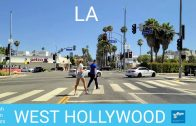 2020 [4K] Driving Tour of West Hollywood, California, USA.  Dash Cam Tours